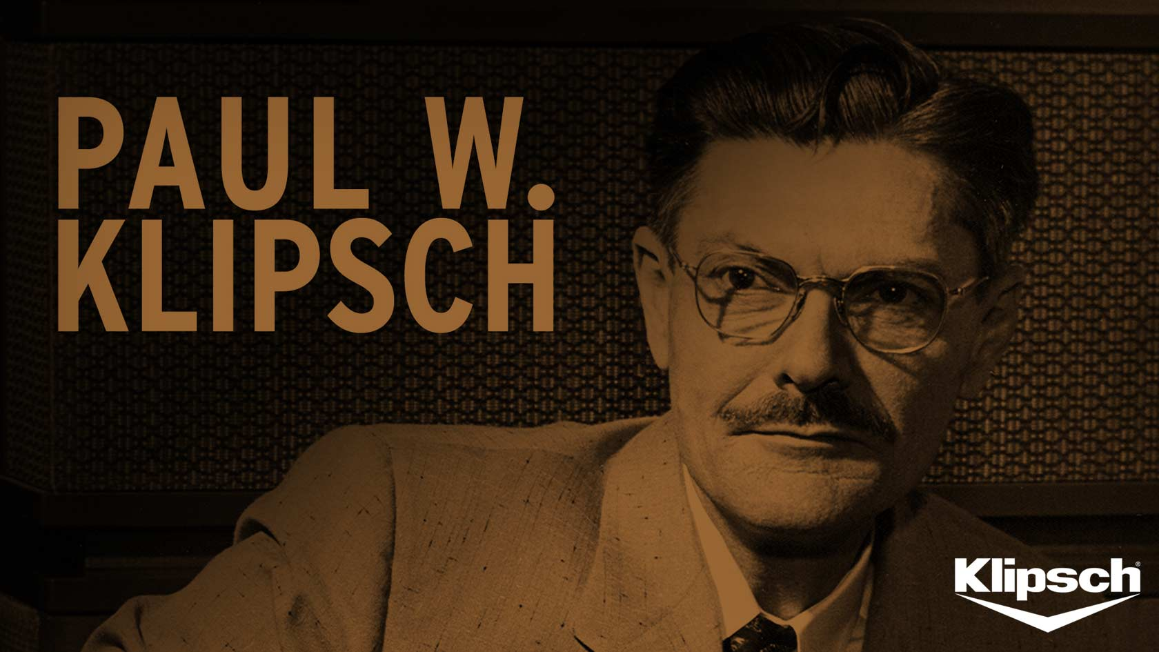 Paul W. Klipschs world of speaker