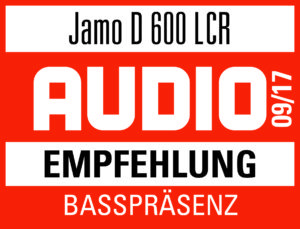 AUDIO Test 09/17 JAMO D600 LCR