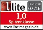 Testsiegel LITE Online Magazin