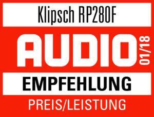 AUDIO Empfehlung 2018 KLIPSCH RP-280F