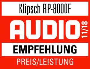 Klitsch RP-8000F Audio Empfehlung