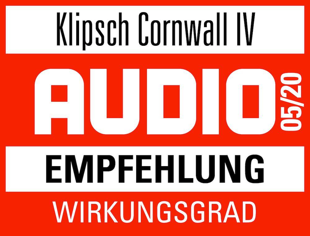 Test Klipsch Cornwall IV Audio 05 2020